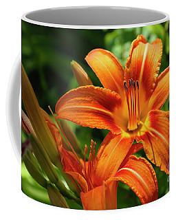 Tiger Lily Explosion Coffee Mug