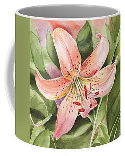 Tiger Lily Watercolor By Irina Sztukowski Coffee Mug