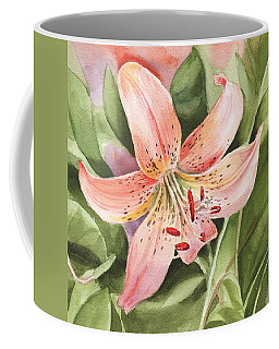 Tiger Lily Watercolor By Irina Sztukowski Coffee Mug