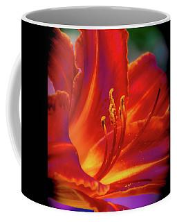 Tiger Lily Coffee Mug by Mark Dunton