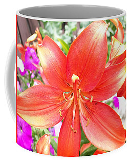 Coffee Mug featuring the photograph Tiger Lily by Sharon Duguay