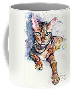 Tiger Coffee Mug by Melinda Dare Benfield