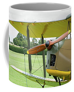 Coffee Mug featuring the photograph Tiger Moth Propeller by Gary Eason