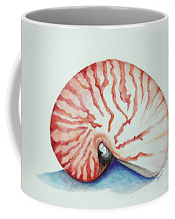 Tiger Nautilus Seashell Coffee Mug