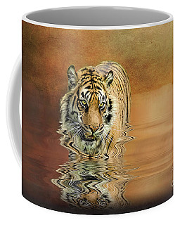 Tiger Reflections Coffee Mug