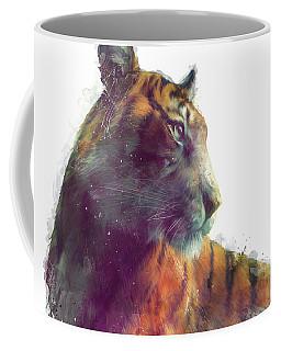 Tiger // Solace - White Background Coffee Mug