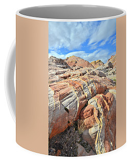 Tiger Stripes In Valley Of Fire Coffee Mug