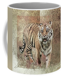 Tiger Tapestry Coffee Mug