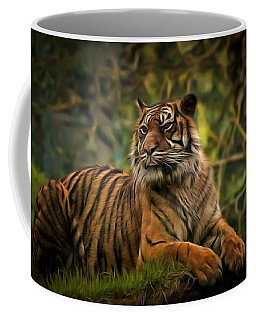 Coffee Mug featuring the photograph Tigers Beauty by Scott Carruthers