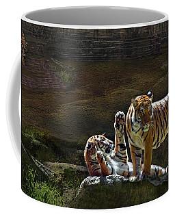 Tigers In The Night Coffee Mug