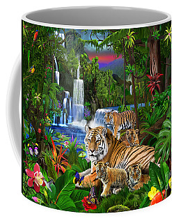 Tigers Of The Forest Coffee Mug