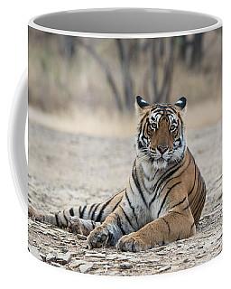 Tigress Arrowhead Coffee Mug by Pravine Chester