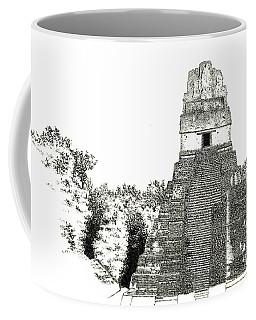 Tikal Temple I Coffee Mug