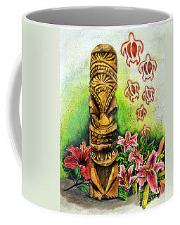 Tiki Still Life 2 Coffee Mug