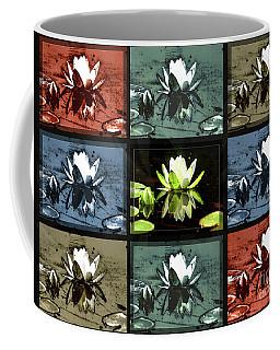 Tiled Water Lillies Coffee Mug