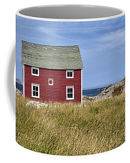 Tilting Coffee Mug by Eunice Gibb