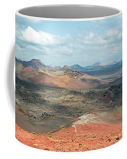 Timanfaya Panorama Coffee Mug by Delphimages Photo Creations
