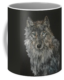 Timber Wolf Coffee Mug by Jean Walker