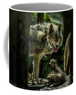 Timber Wolf Picture - Tw340 Coffee Mug