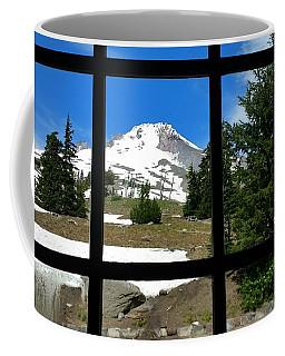 Timberline Lodge View Coffee Mug