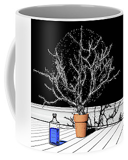Coffee Mug featuring the digital art Time Aerials Time Aerials In A Pot by Russell Kightley