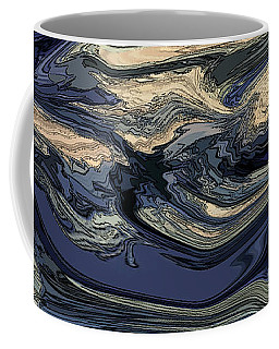 Coffee Mug featuring the digital art Time And Tide by Gina Harrison