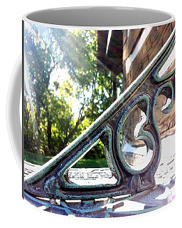 Coffee Mug featuring the photograph Time At An Angle by Robert Knight