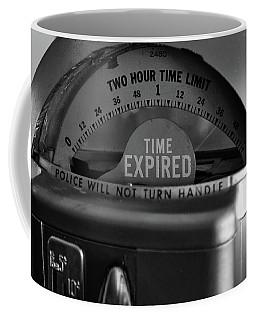 Time Expired Coffee Mug