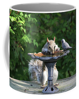 Coffee Mug featuring the photograph Time For A Drink by Trina Ansel