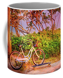 Coffee Mug featuring the photograph Time For Beach Fun by Debra and Dave Vanderlaan