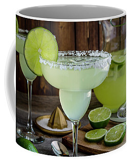 Time For Margaritas Coffee Mug by Teri Virbickis