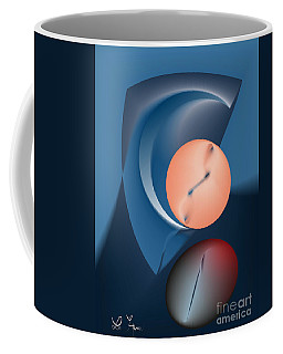 Time Is A Peculiar Game Coffee Mug