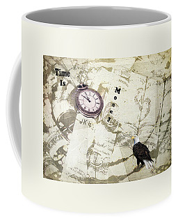 Coffee Mug featuring the photograph Time Is Money by Diane Schuster