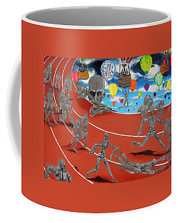 Time Is Moving Coffee Mug by Raymond Perez
