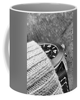 Coffee Mug featuring the photograph Time Machine by Robert Knight