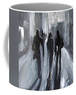 Time Of Long Shadows Coffee Mug