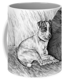 Time Out - Jack Russell Dog Print Coffee Mug