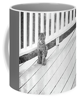 Time Out Bw Coffee Mug