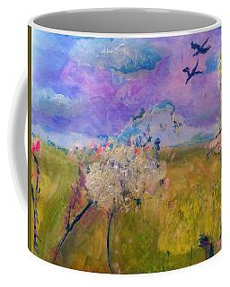 Time To  Feel The Breeze Coffee Mug by Judith Desrosiers
