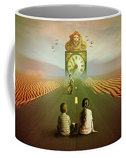 Coffee Mug featuring the digital art Time To Grow Up by Nathan Wright