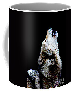 Time To Howl Coffee Mug by Nick Gustafson