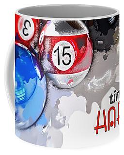 Time To Play Hard Ball White Coffee Mug