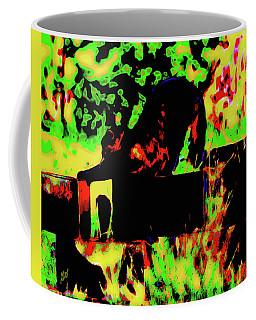 Time To Stretch Coffee Mug by Gina O'Brien