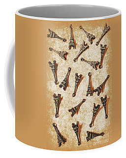 Time Worn Trinkets From Vintage Paris Coffee Mug