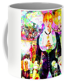 Timeless Art A Bar At The Den Folies Bergere 20160228 Vertical Coffee Mug