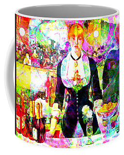 Timeless Art A Bar At The Den Folies Bergere 20160228 Coffee Mug