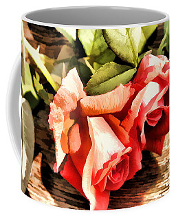Timeless Tropicana Roses Coffee Mug