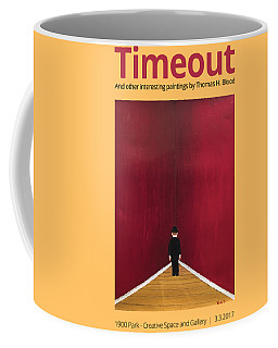 Timeout T-shirt Coffee Mug by Thomas Blood
