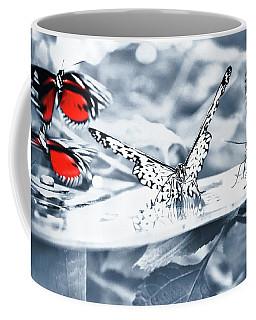 Coffee Mug featuring the photograph Times Of Butterflies by Jaroslav Buna