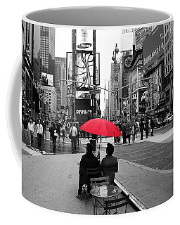 Times Square 5 Coffee Mug by Andrew Fare